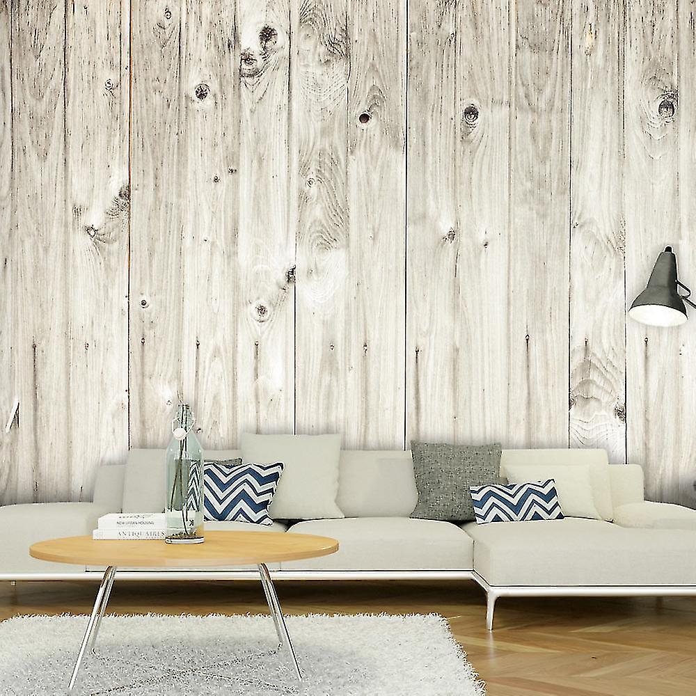 Papier peint - Clôture en bois