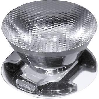 LED optics Water clear, Rippled Transparent 18 ° No. of LEDs (max.): 1 For LEDs: Seoul Semiconductor ® Z5 Ledil CA11388
