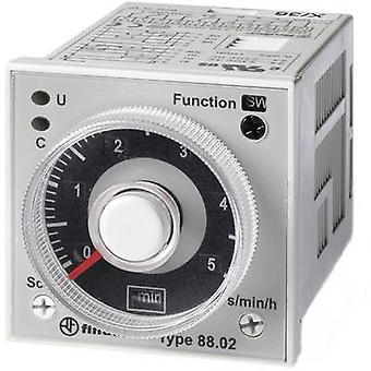 Finder 88.02.0.230.0002 TDR Multifunction 1 pc(s) ATT.FX.TIME-RANGE: 0.05 s - 100 h 2 change-overs