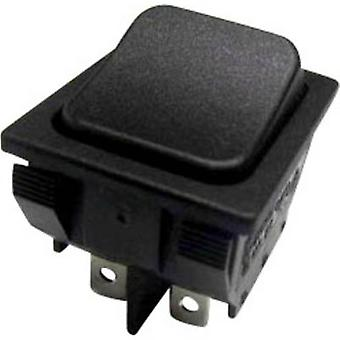 SCI Toggle switch R13-87BC-02 250 V AC 10 A 1 x On/On latch 1 pc(s)