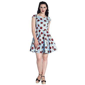 Hell Bunny Lila Mini Dress L