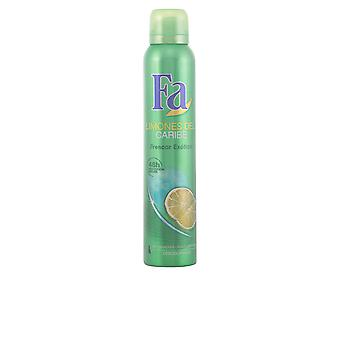 Fa Limones Del Caribe Deo Vapo 200ml New Mens Spray Sealed Boxed