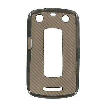 OEM Verizon Silicone Case voor de BlackBerry Curve 9370 (zwart) (Bulk verpakking)