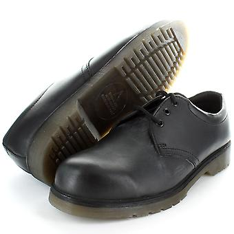 Black PVC Sole Safety Shoe