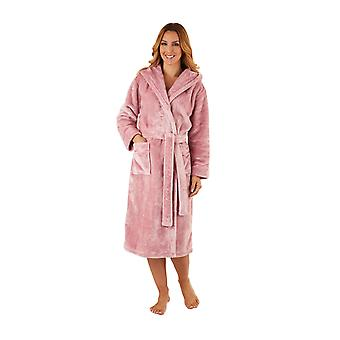 Slenderella HC2346 Women's Luxury Fleece Robe Loungewear Bath Dressing Gown