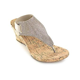 White Mountain Womens All Good Open Toe Casual Platform Sandals