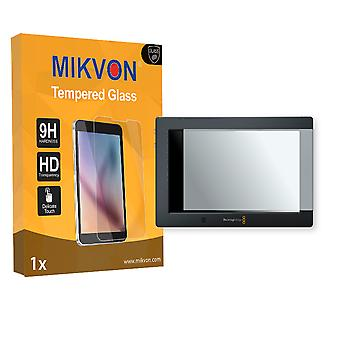 Blackmagic Video Assist 4K Screen Protector - Mikvon flexible Tempered Glass 9H (Retail Package with accessories)