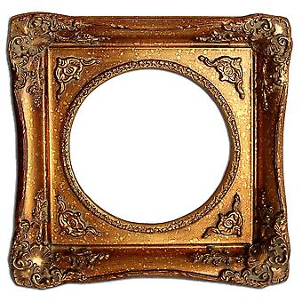 20 x 20 cm or 8 x 8-inch photo frame in gold