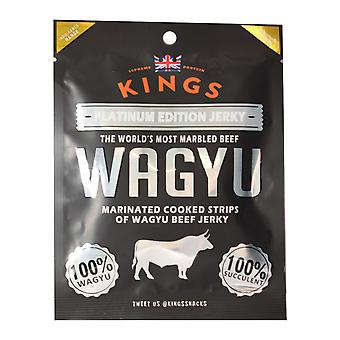 Kings Wagyu Beef Platinum Edition Jerky 25G Pack X16