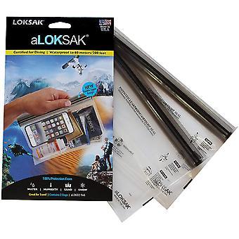 Loksak aLoksak Resealable Waterproof TSA-Size Storage Bags (2 Pack) - 9