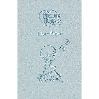 Precious Moments Holy Bible - Blue Edition by Thomas Nelson - 9781400
