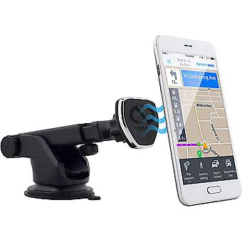 Naztech MagBuddy Dash Hands-Free Mobile Device Telescopic Mount - Black