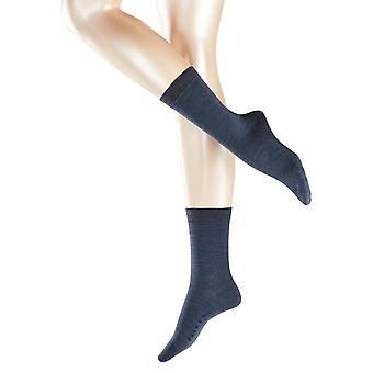 Falke Softmerino Midcalf Socken - dunkelblau