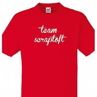 Team Scraptoft Red T shirt