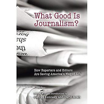 What Good Is Journalism?: How Reporters and Editors Are Saving America's Way of Life