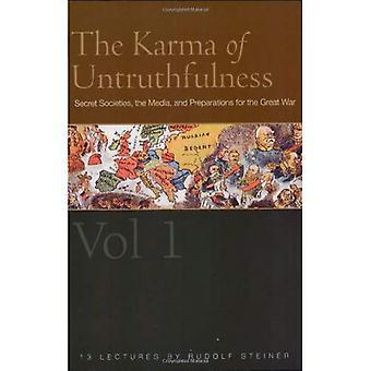Osannfärdighet Karma: v. 1: hemliga sällskap, Media och förberedelserna inför det stora kriget
