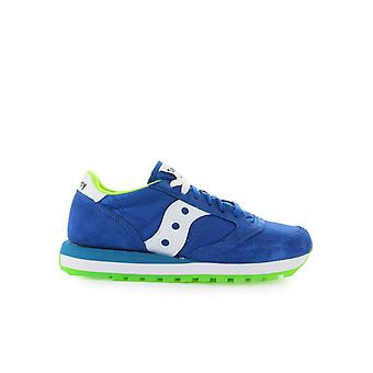 SAUCONY ORIGINALS JAZZ BLUE LIME GREEN SNEAKER