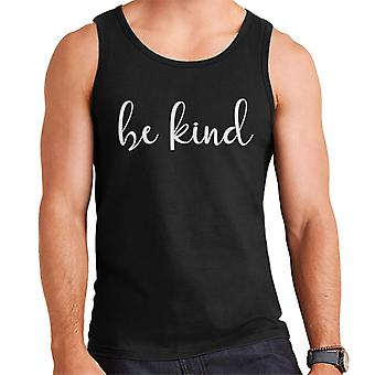 Holly Willoughby Im A Celebrity Be Kind Text Men's Vest