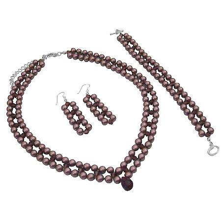 Find Burgundy Jewelry At Fashion Jewelry For Everyone Collection