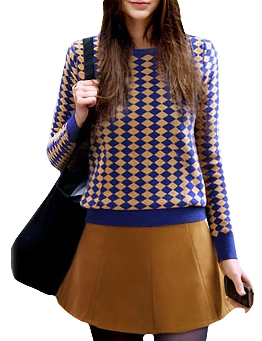 Waooh - pull together geometric pattern skirt Knowa
