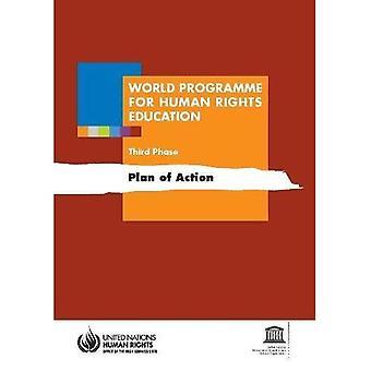 Programma mondiale per l'educazione ai diritti umani: piano d'azione, terza fase