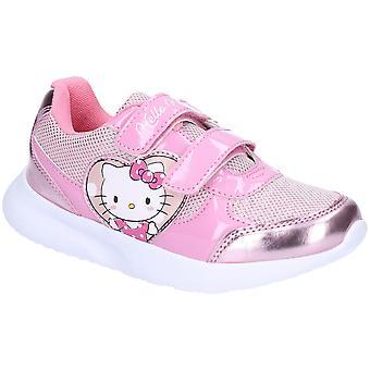 Leomil Girls Hello Kitty Adjustable Lightweight Trainers