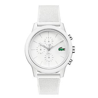 Lacoste menns kvarts Watch med silikon stroppen 2010974