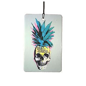 Pineapple Skull Car Air Freshener