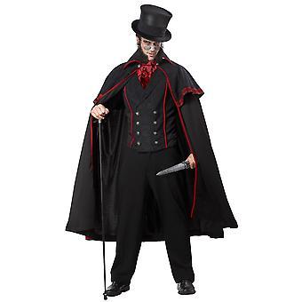 Jack The Ripper Victorian Vampire English Horror Killer Murder Mens Costume