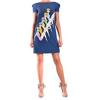 Moschino Blue Polyester Dress