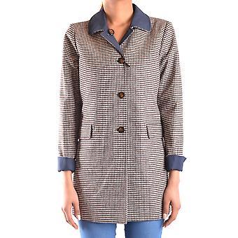 Peuterey Blue Polyester Coat