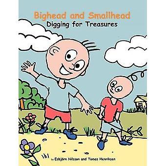 Bighead and Smallhead Digging for Treasures by Nilsson & Esbj Rn