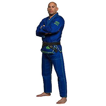 Fuji Sports Mens Superaito Jiu Jitsu Gi -Royal Blue