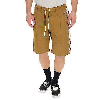 Champion Beige Nylon Shorts