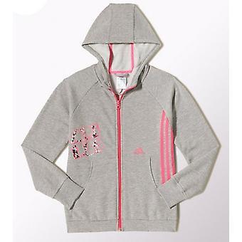 Adidas meninas LG RI Full Zip Hoodie - M66845