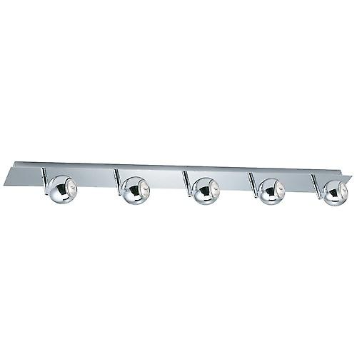Searchlight 8585CC Eyeball 5 Light Chrome Eyeball Spotlight Bar