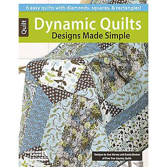 Dynamic Quilts - Designs Made Simple by Sue Harvey - Sandy Boobar - 97