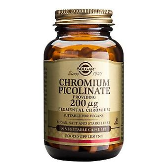 Solgar Chromium Picolinate 200 ug Vegetable Capsules, 90
