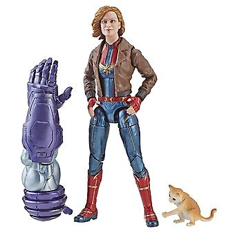 Captain Marvel 6-inch Leather Jacket figure Toy