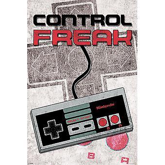 Affiche - Studio B - Nintendo - Control Freak 36x24