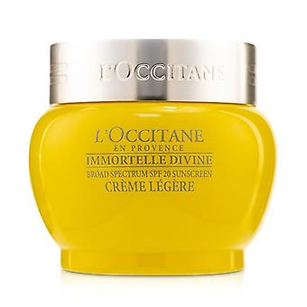 L'Occitane Immortelle Divine Light Cream SPF 20 50ml/1.7oz