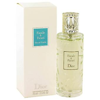 Escale A-Parati von Christian Dior Eau De Toilette Spray 2,5 oz/75 ml (Frauen)