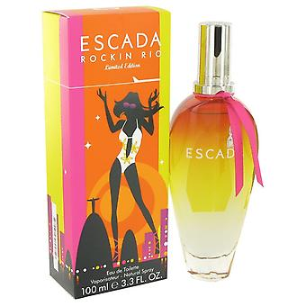 Escada Rockin'Rio by Escada Eau De Toilette Spray 3.4 oz / 100 ml (Women)