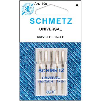 Universal Machine Needles Size 12 80 5 Pkg 1709