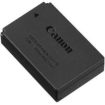 Camera battery Canon replaces original battery LP-E12 7.2 V 875