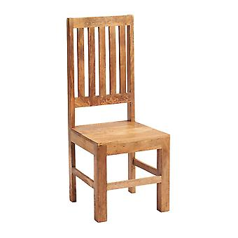 Phoenix Light Mango Slatback Chair  - A Pair