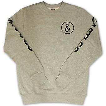 Skurkar & slott C och C Sweatshirt Heather Grey