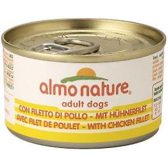 Almo nature Nature Small Filete De Pollo 95gr (Dogs , Dog Food , Wet Food)