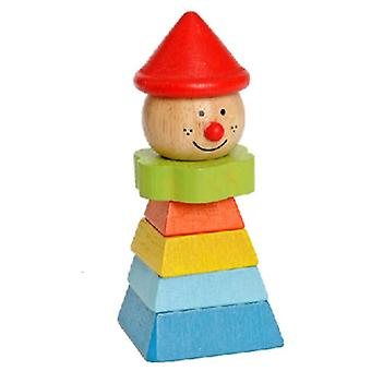 EverEarth Clown With Red Hat (Toys , Preschool , Babies , Stackable Toys)
