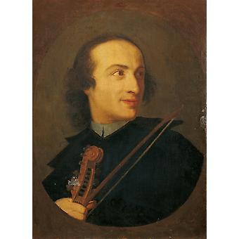Ritratto di Giuseppe Tartini Poster Print